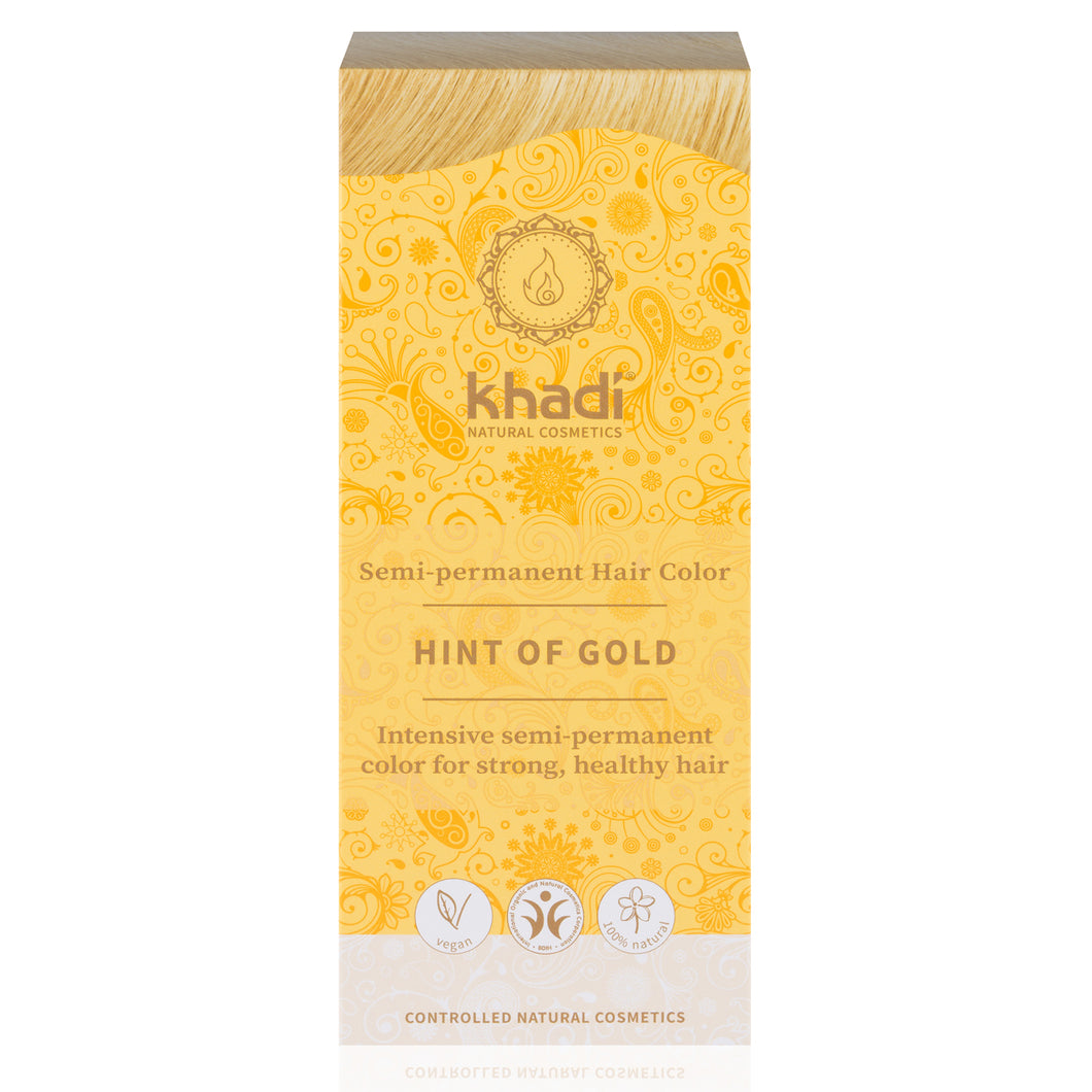 Khadi Golden Hint Pure Henna Colour 100g