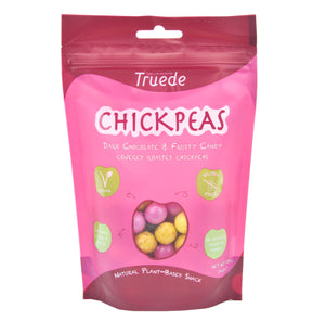 Truede Dark Chocolate & Fruity Candy Covered Roasted Chickpeas 120g