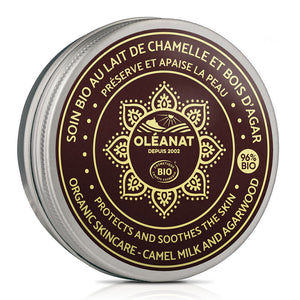 Oleanat Face & Body Balm with Organic Camel Milk & Agarwood 50ml