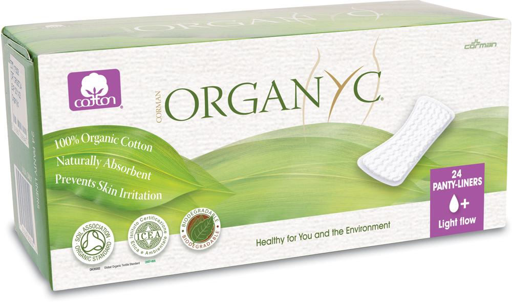 Organyc Organic CotTints of Nature Pantyliners Light Flow - Box of 24