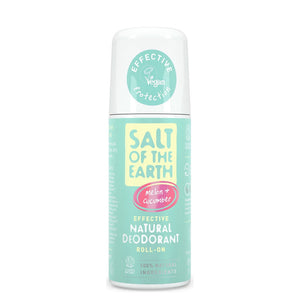 Salt of The Earth Pure Aura Melon and Cucumber Roll-on Deodorant 75ml