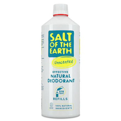 Salt of The Earth Unscented Natural Deodorant Refill 1000ml