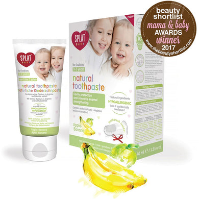 Splat Baby Apple & Banana Toothpaste for Babies 0-3 Years 40ml