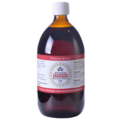 The Blessed Seed Black Seed Oil 1000ml - Strong