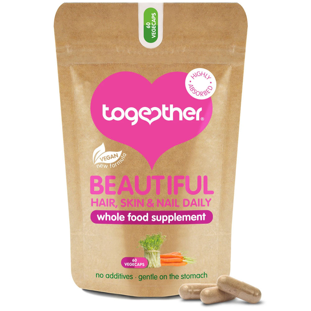Together Health Beautiful Hair, Skin & Nail Daily 60 Capsules