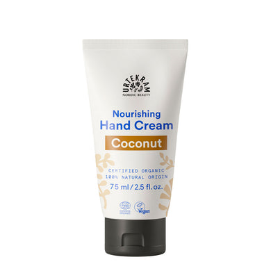 Urtekram Nourishing Coconut Hand Cream 75ml Vegan Morganics Beauty