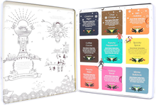 Premium Holiday Collection White Gift Tin - 72 Tea Bag Sachets