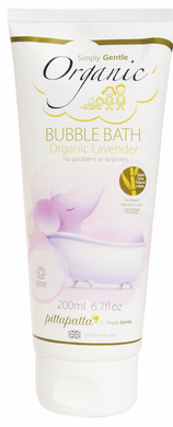 Simply Gentle Pittapatta Organic Lavender Bubble Bath 200ml