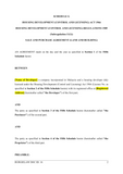 Sale and Purchase Agreement Template (Schedule G)