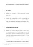 Exclusive Distributorship Agreement Template