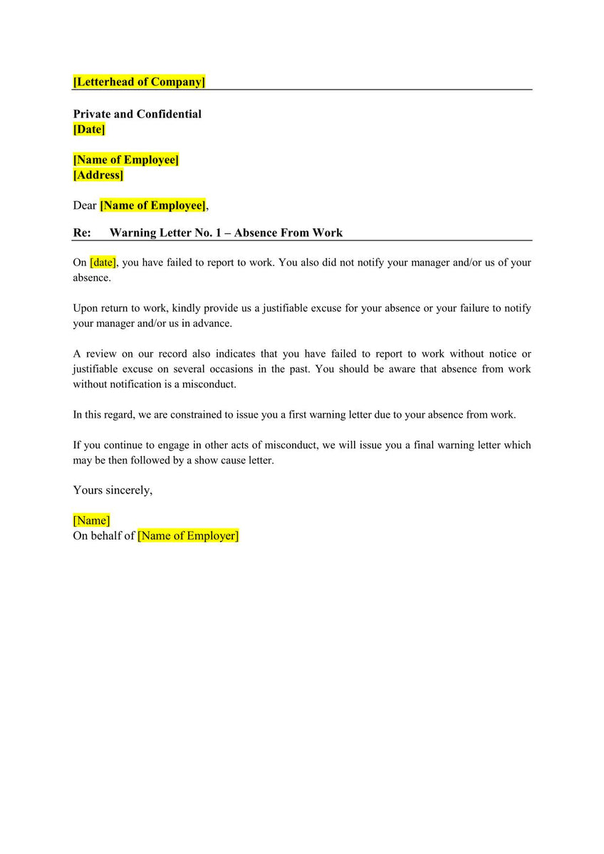 [16-in-1] Employment Letter Templates