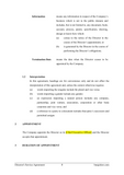 Director's Service Agreement Template