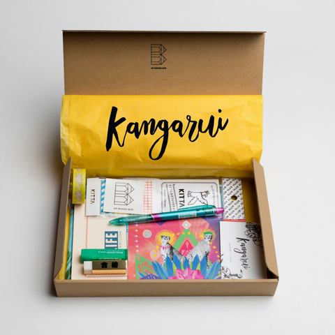 Kangarui X My Bungu Box collaboration
