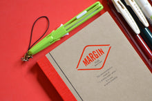 Life Stationery Notebook, pencut mini scissors, SARASA pens