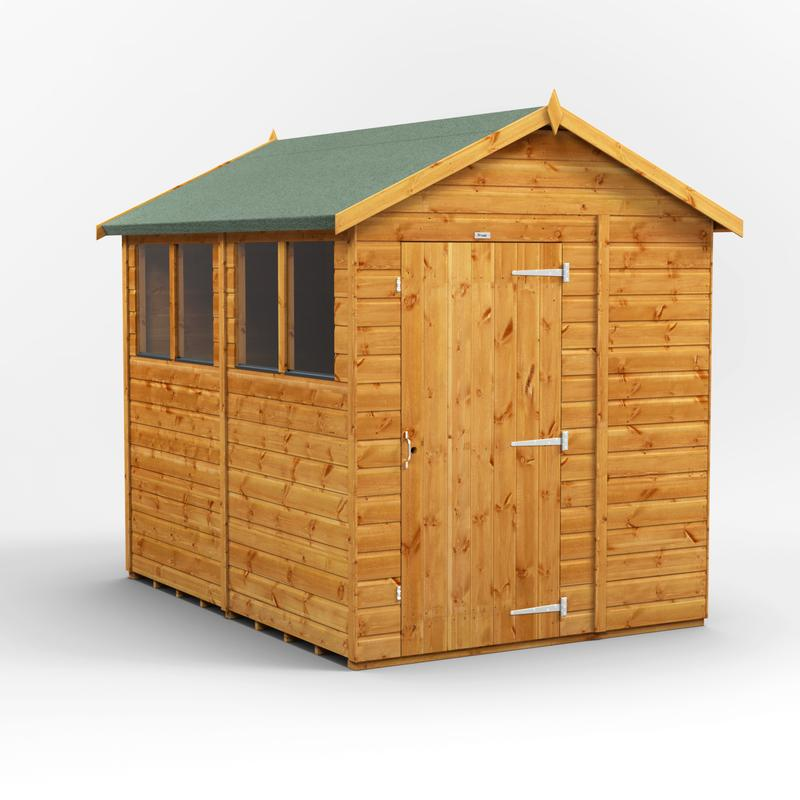 New fast delivery Quality Apex & Pent sheds