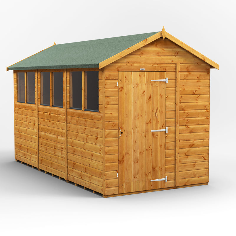 Express 12x6 Purewell Power Apex - Purewell Timber