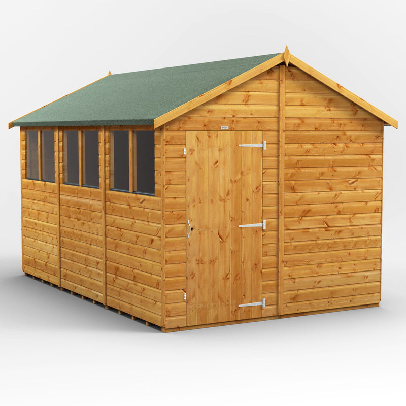 Express 12x8 Purewell Power Apex - Purewell Timber