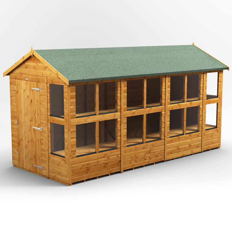 Express Delivery Power Apex Potting Shed - Purewell Timber