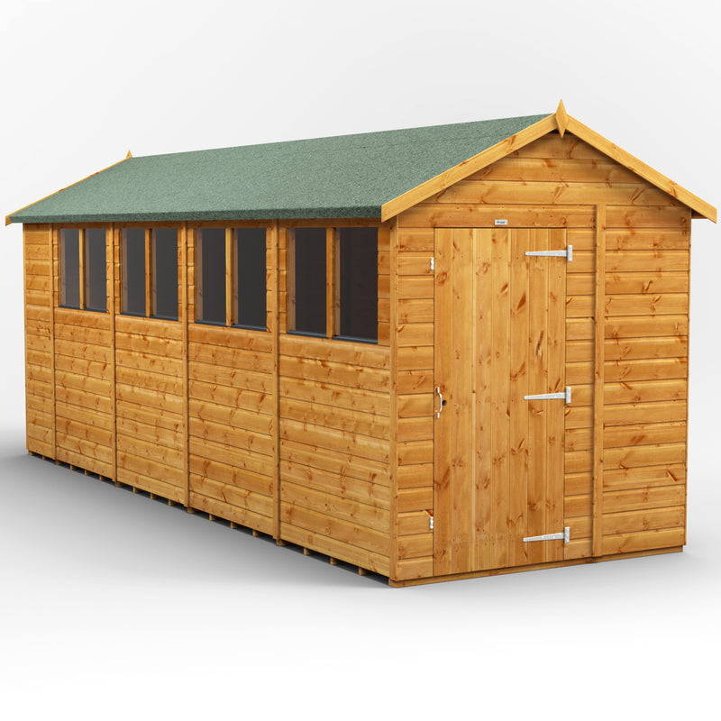 Express 14x6 Purewell Power Apex - Purewell Timber