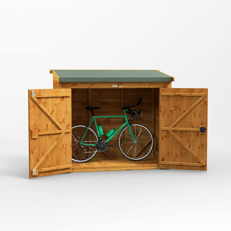 Express Power Pent Bike Store - Purewell Timber