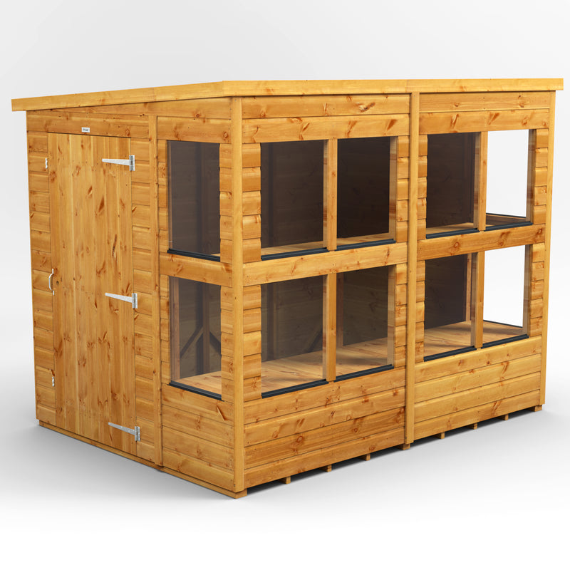 Express Delivery Power Pent Potting Shed - Purewell Timber