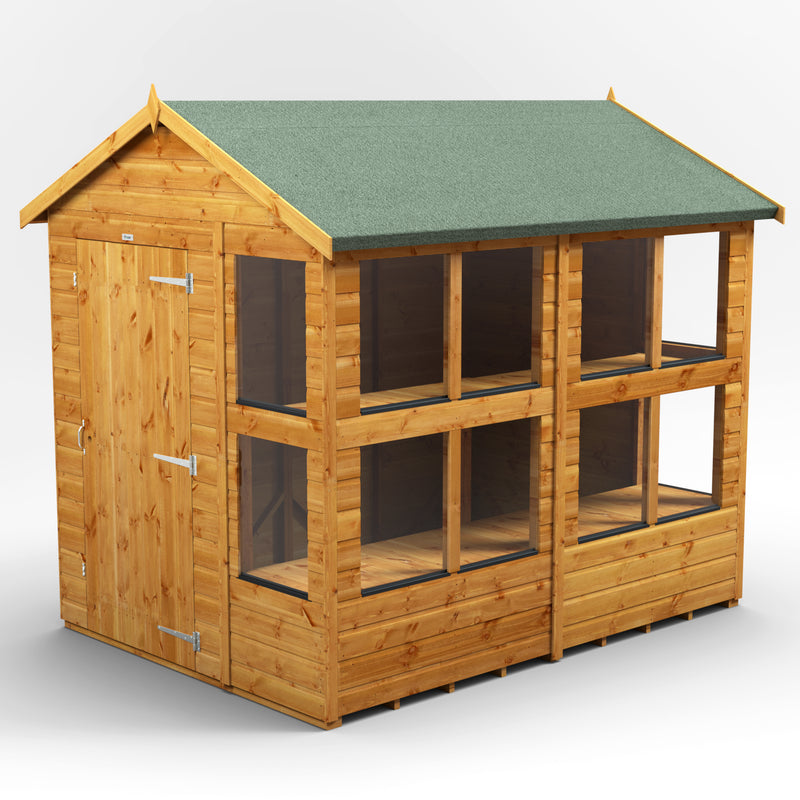 8x6 Express Power Apex Potting Shed