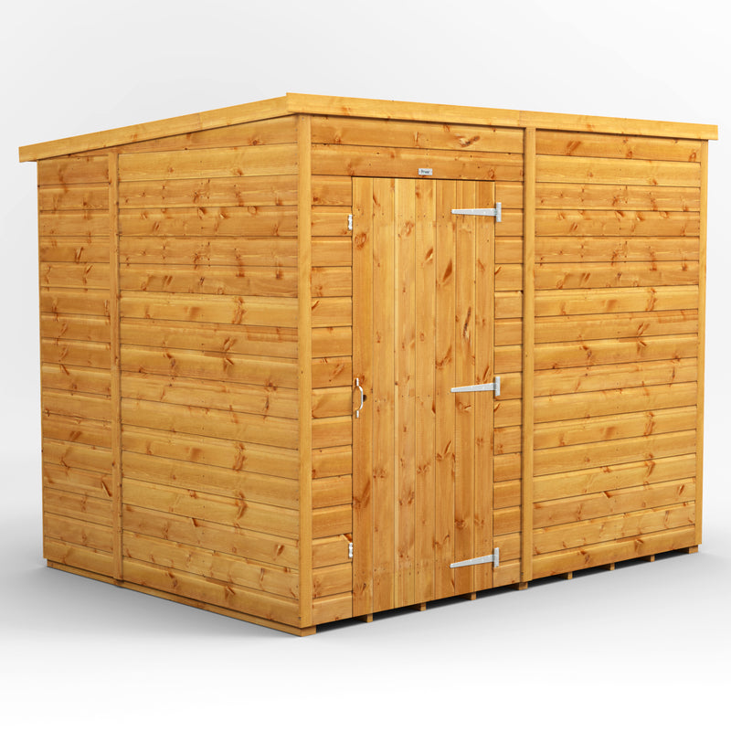8x6 Express Windowless Purewell Power Pent - Purewell Timber