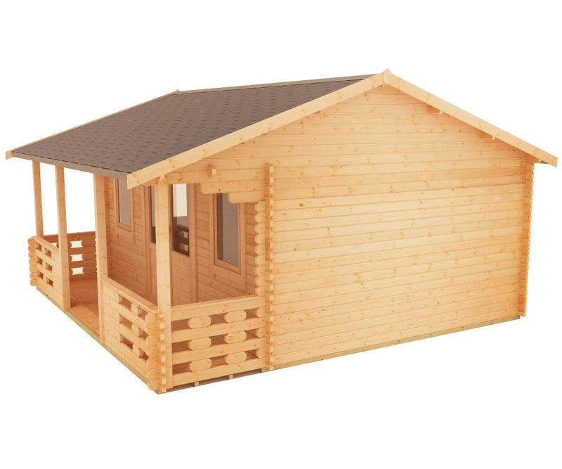 44mm Adlington log cabin