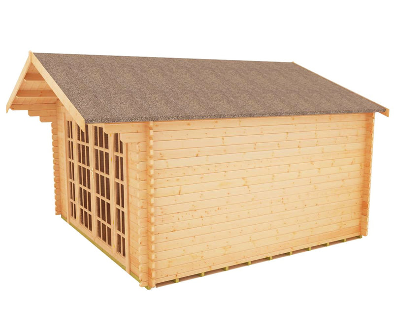 44mm Balmoral Log Cabin