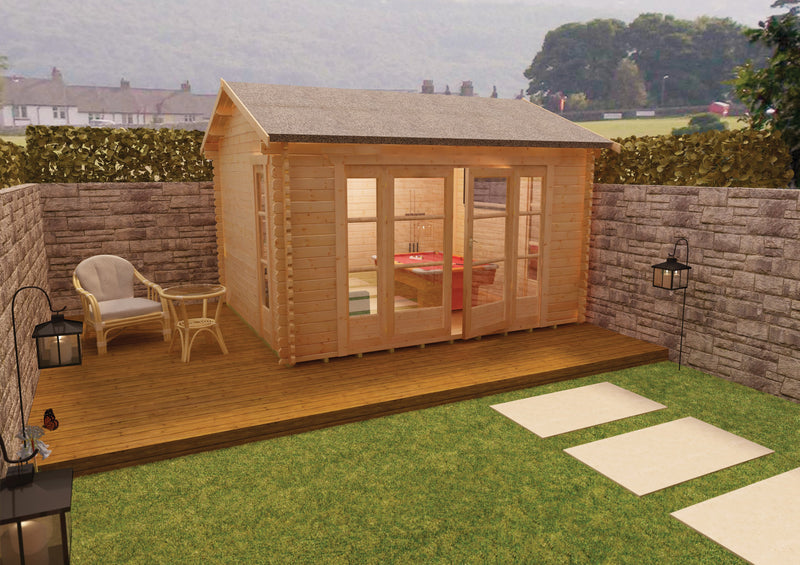 44mm Bamber Log Cabin