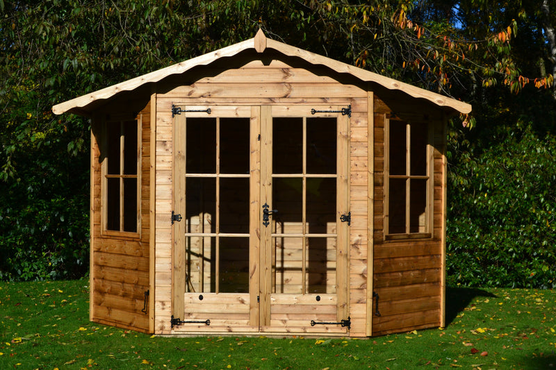 Bowness Wooden Apex Summerhouse - Purewell Timber