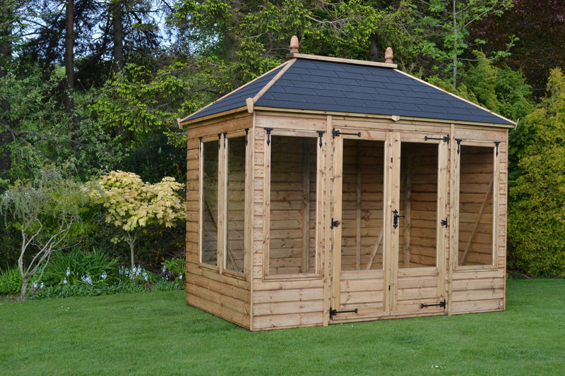 Dovedale Summerhouse - Purewell Timber