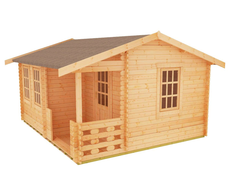 44mm Gyles Log Cabin