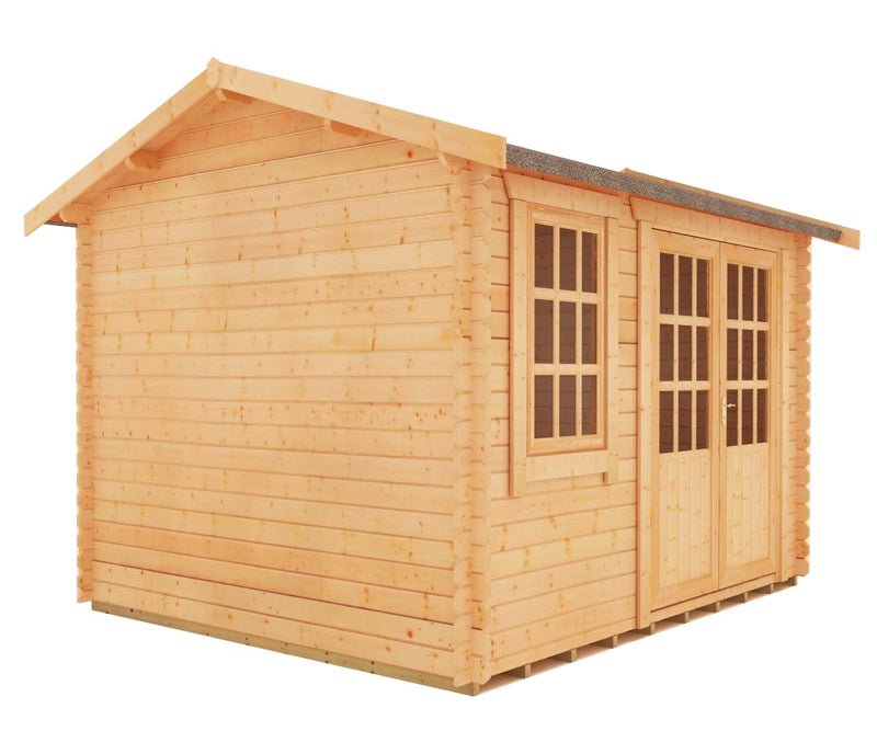 Henley Log Cabin 28mm - Purewell Timber