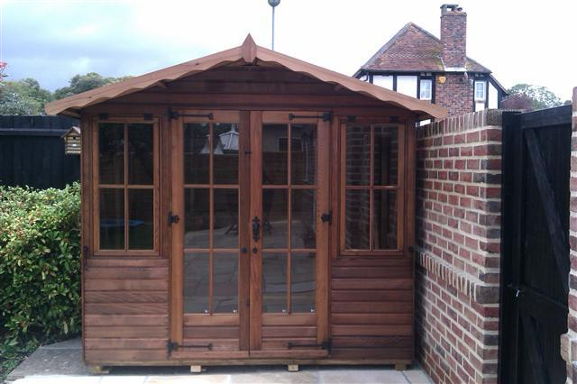 Monte Carlo Wooden Apex Summerhouse - Purewell Timber
