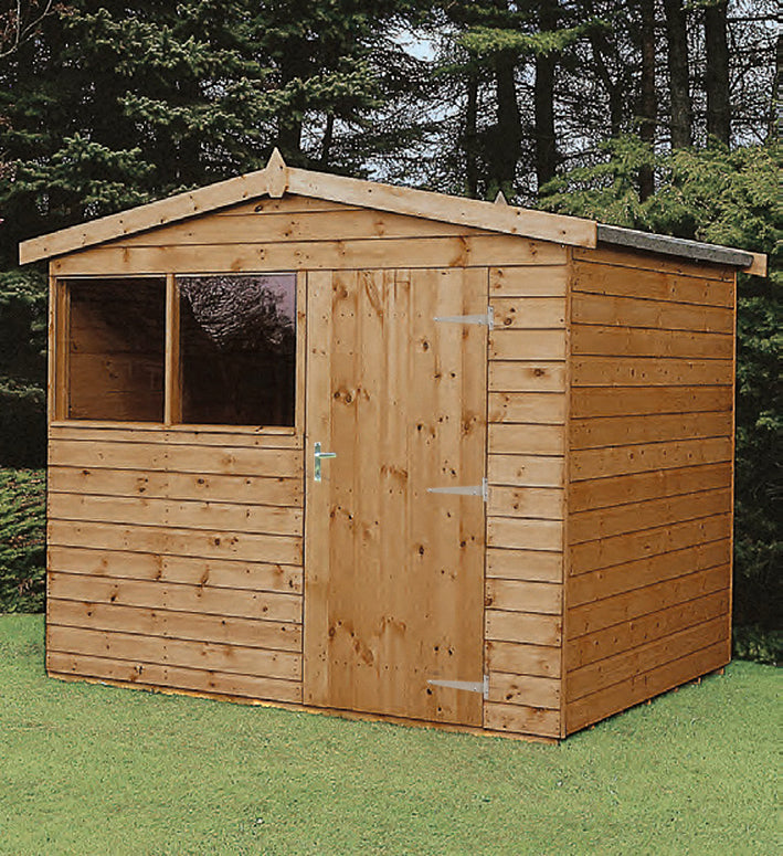 Ultra Apex Wooden Shed - Purewell Timber