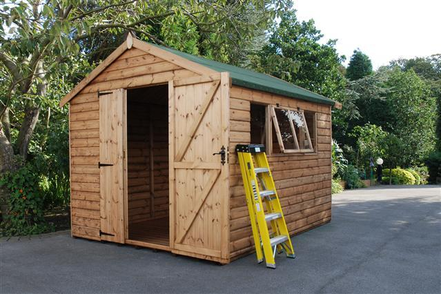 Cawthorne Apex Shed/Workshop - Purewell Timber