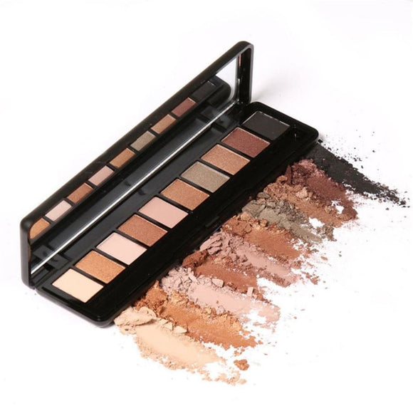 10 Pigment Rich Eye Shadow Palette Makeup Eye Shadow Eyes Makeup Makeup Type_Eyes Makeup New Trends Nude