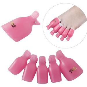 10pcs Professional Cap Clip Set Nail Polish Makeup Type_Nails Art New Trends Trends 2019