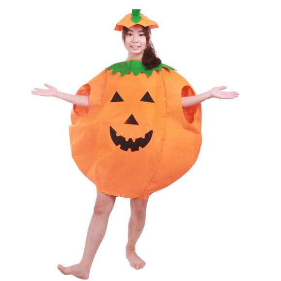 2-Pieces Set Halloween Costumes For Women Men Adult Pumpkin Costume Outfit Clothes Costume 2019 Clothing Type_Halloween Costumes Costume New