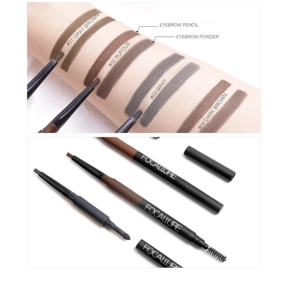 3 In 1 Auto Brows Pen Makeup Eyes Makeup Makeup Type_Eyes Makeup New Trends Trends 2019