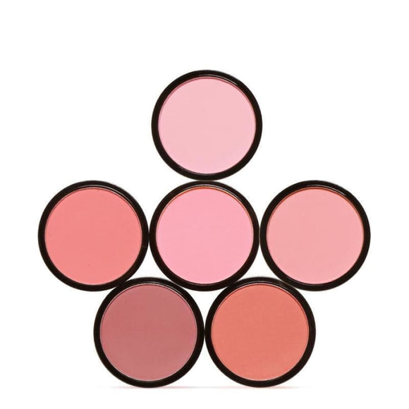 6 Colors Makeup Natural Pressed Blusher Powder Palette Charming Cheek Long Lasting Makeup Highlighter/shimmer/blusher Makeup Type_Base New