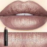 8 Metallic Long-Lasting Moisturizing Lipstick 27 Makeup Lipstick/lip Gloss/lip Liner Makeup Type_Lipstick/lip-Gloss New Trends Trends 2019