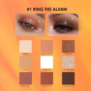 9 Colors Eye Shadow Palette Makeup Eyes Makeup Makeup Type_Eyes Makeup New Trends Trends 2019