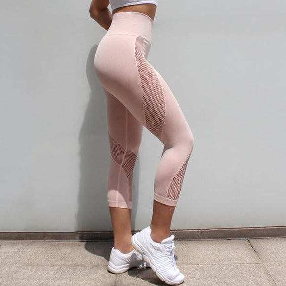 Adrienna Workout Leggings Pink / S Fitness Fitness leggings Fitness wear Fitness_Leggings Legging New Trends
