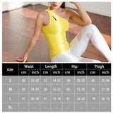 Alice Yoga Tank Yellow / L Fitness Fitness wear Fitness_Tops New Trends Tank Top Top