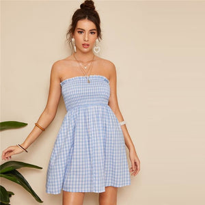 Augie Watts Dress Dresses A Line Above Knee Clothing Type_Dresses Club Fit and Flare