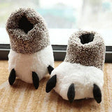 Bear Claw Slippers paw / 4 Comfy Clothing Type_Pajamas & Slippers New Trends Season_Fall Slippers Trends 2019