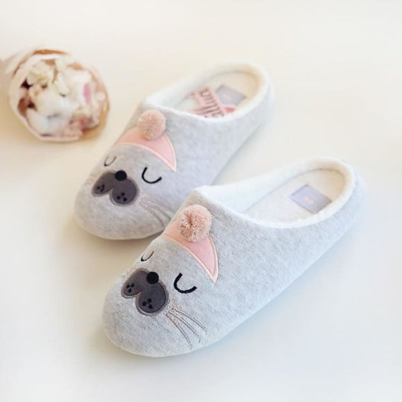 Bear Comfortable Slippers Comfy Clothing Type_Pajamas & Slippers New Trends Season_Fall Slippers Trends 2019