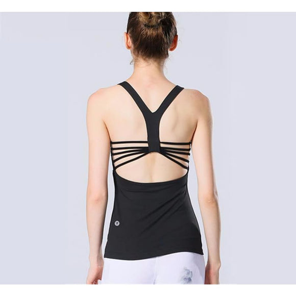 Bind Straps Yoga Top 01 / S Fitness Fitness Top Fitness wear Fitness_Tops New Trends Top